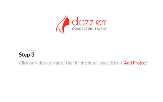 Dazzlerr : Video Step 5
